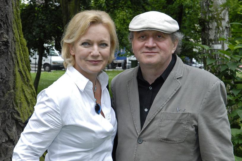 Maria Pakulnis i Krzysztof Zaleski w 2007 roku /Kurnikowski /AKPA