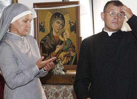 """Maria Pakulnis i Tadeusz Chudecki w serialu """"Siostry"""" / fot. Jarosław Wojtalewicz /AKPA"""