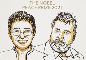 Maria Ressa i Dmitrij Muratow laureatami Pokojowej Nagrody Nobla