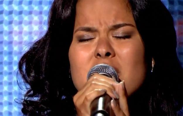 "Maria Rodriguez w ""The Voice Of Poland"" /"