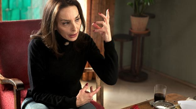 Maria Rosaria Omaggio jako Oriana Fallaci. /materiały dystrybutora
