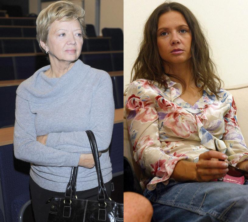 Maria Rusin z córką Kingą Rusin /East News
