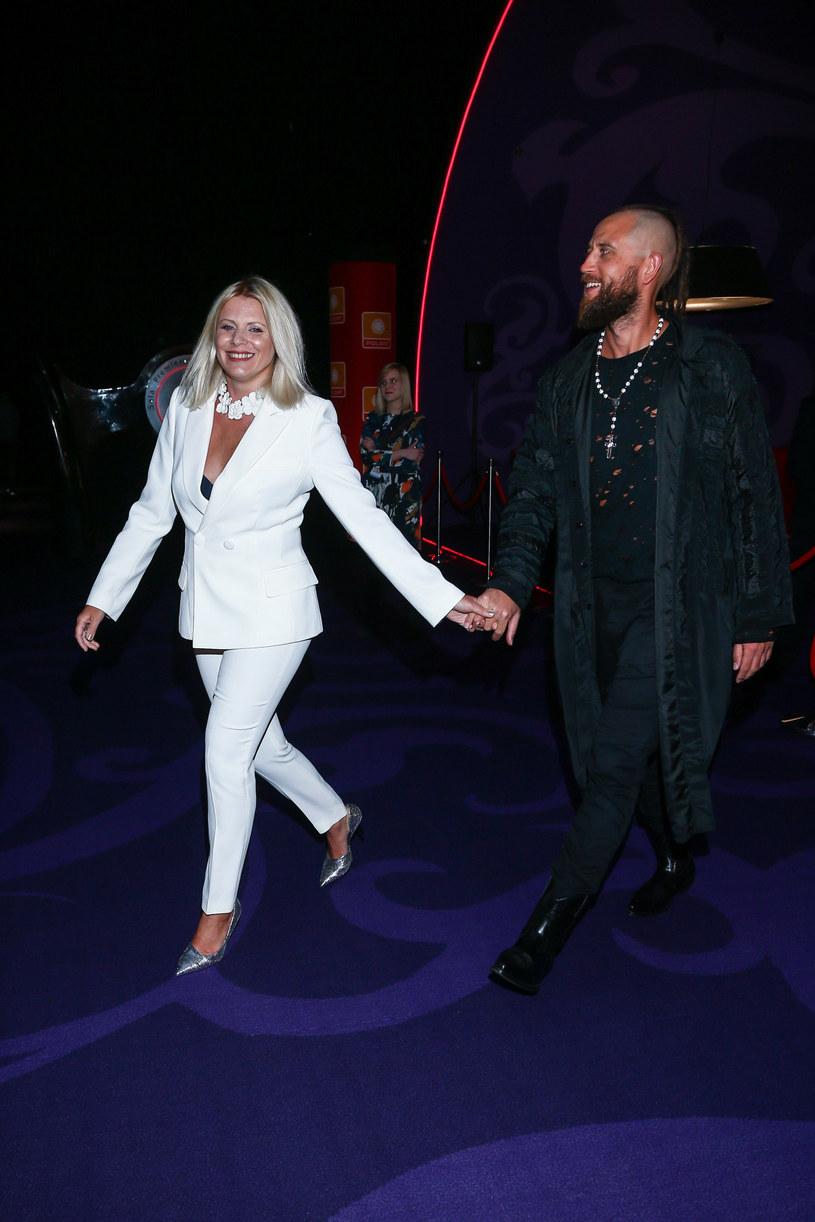 Maria Sadowska i Adrian Łabanowski pobrali się w 2011 roku /Kamil Piklikieiwcz /East News