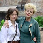"""Maria Sadowska i Magda Boczarska na planie filmu """"Sztuka kochania"""""""