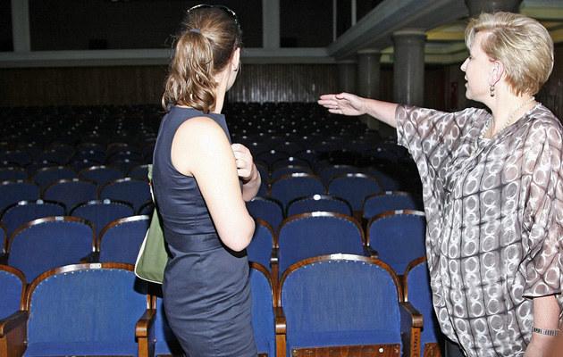 Maria Seweryn, Krystyna Janda w Och-Teatrze, fot.Grąbczewski  /AKPA