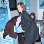 Maria Seweryn sprytnie ukrywa ciążowy brzuszek!