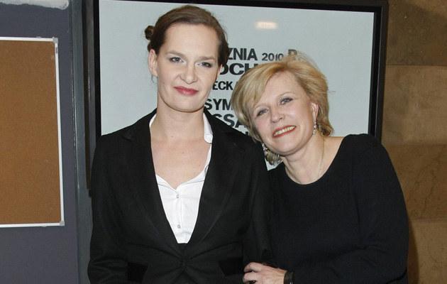 Maria Seweryn z mamą Krystyną Jandą, fot.Engelbrecht  /AKPA
