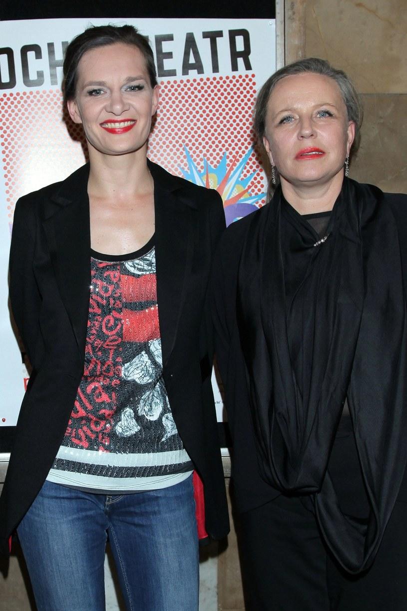 Maria Seweryn z mamą Krystyną Jandą /Paweł Wrzecion /MWMedia