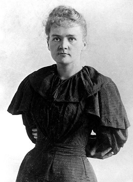 Maria Skłodowska-Curie, prawdopodobnie 1895 r.