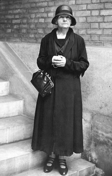 Maria Skłodowska-Curie podczas wizyty w USA w 1929 r.