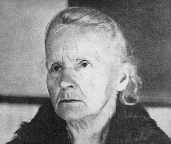 Maria Skłodowska-Curie w 1931 roku