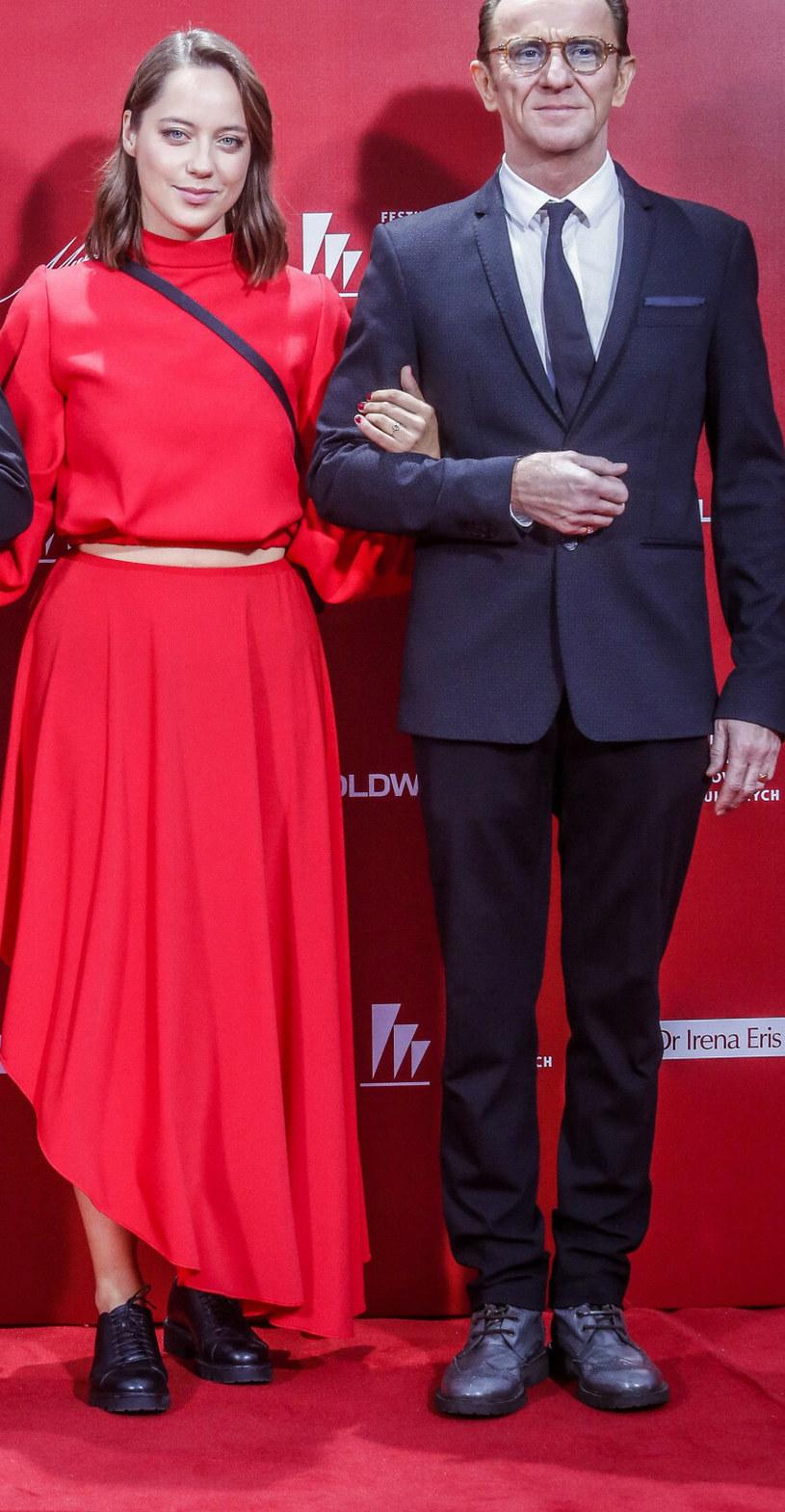 Maria Sobocińska i Paweł Wilczak /KAROLINA MISZTAL/REPORTER /East News