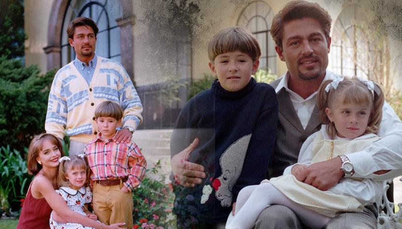 """Maria Soler i Sergio Miguel, czyli serialowe dzieci Carlosa Daniela, nie zrobili kariery w telewizji. W 2006 roku Sergio spotkał się z Gaby w programie """"Muevete"""". /materiały prasowe"""