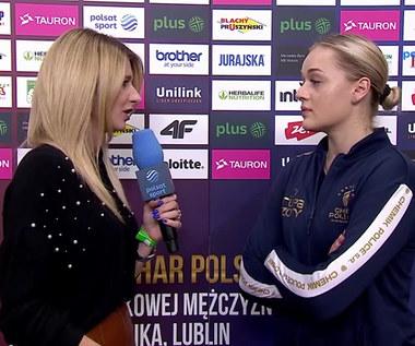 Maria Stenzel: W tie-breaku odcięło nas od prądu. WIDEO (Polsat Sport)