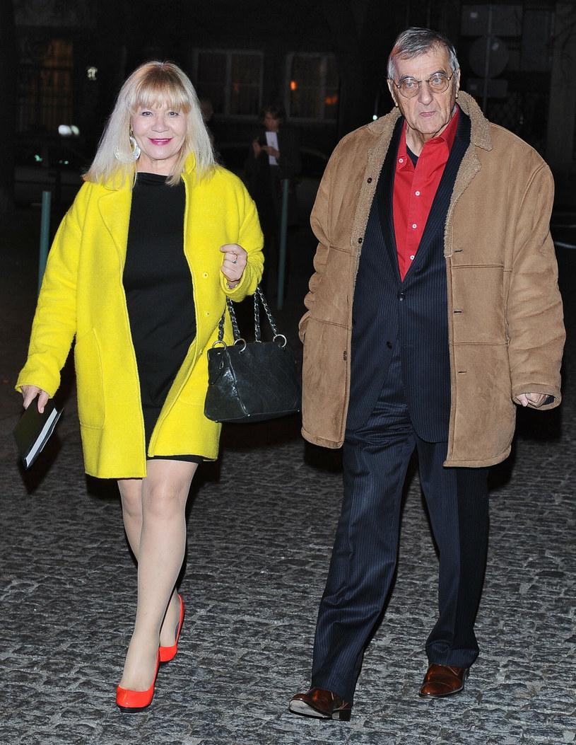 Maria Szabłowska z mężem Markiem /VIPHOTO /East News