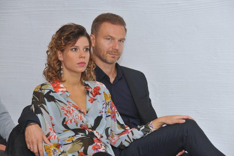 Maria Szafirska i Krystian Wieczorek /Marek Ulatowski /MWMedia