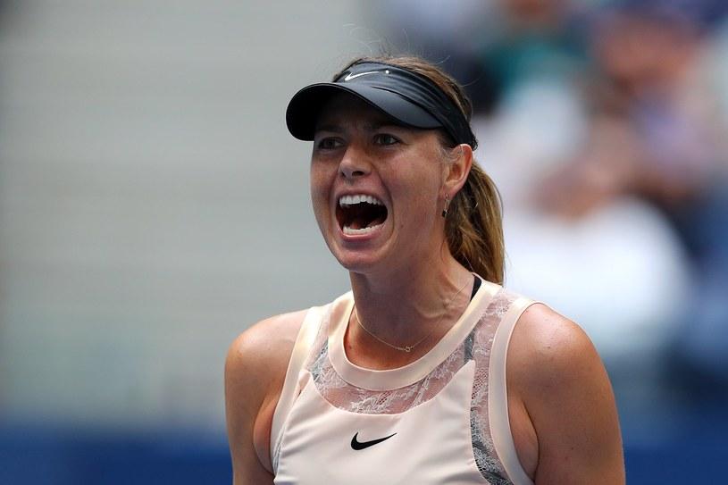 Maria Szarapowa podczas US Open /AFP