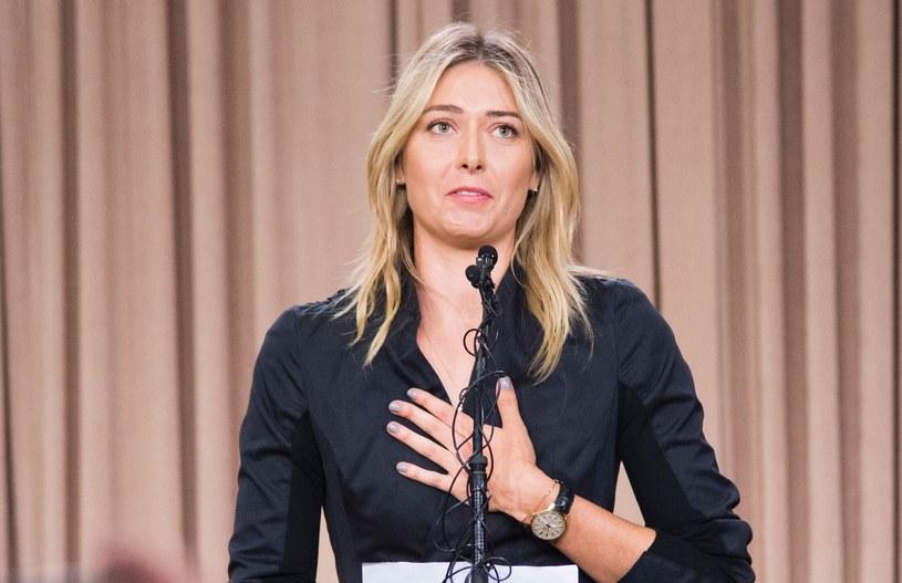 Maria Szarapowa przyznała się do stosowania dopingu /AFP