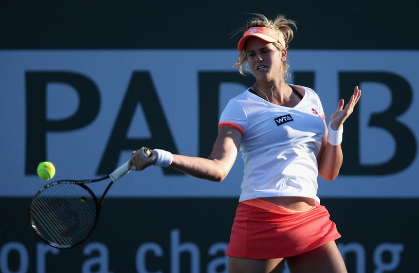 Maria-Teresa Torro-Flor sprawiła niespodziankę w Indian Wells /AFP