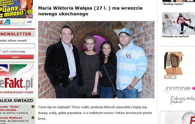 Maria Wiktoria z Antkiem, Edytą i Maciejem  /efakt.pl