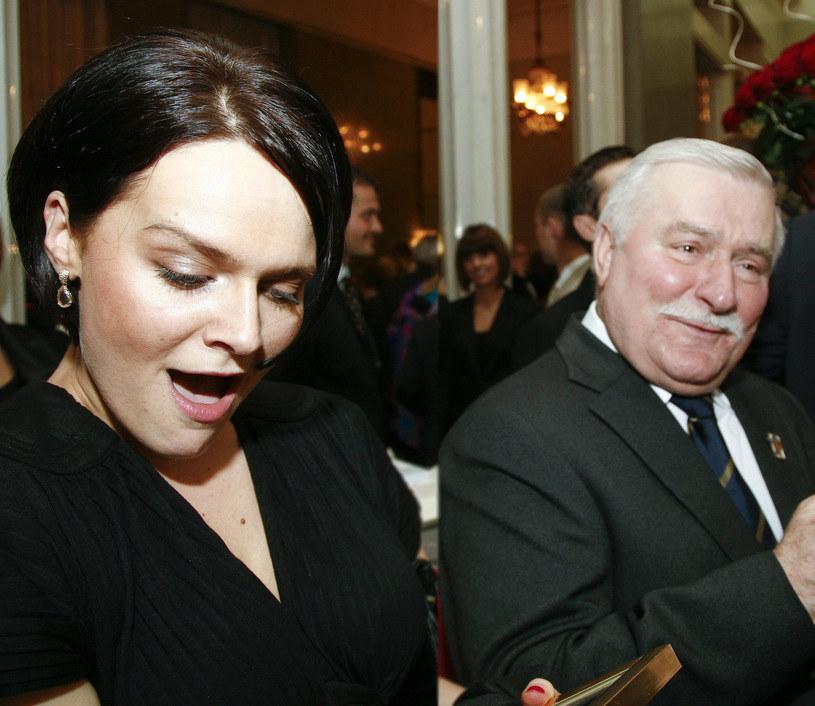 Maria Wiktoria z ojcem /Krzysztof Kuczyk /Agencja FORUM
