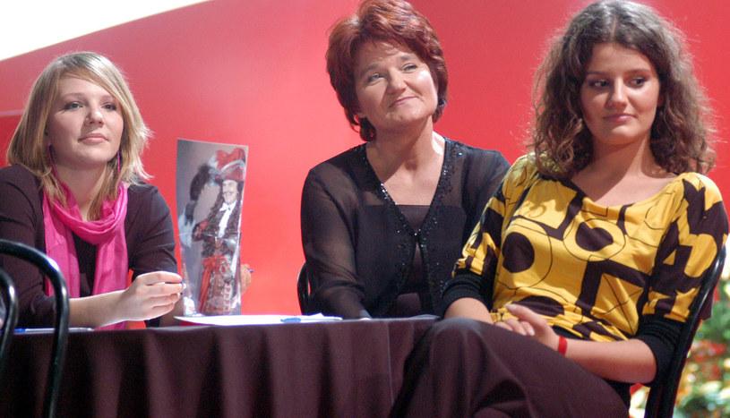 Maria Winiarska z córkami Hanią i Zofią /Prończyk /AKPA