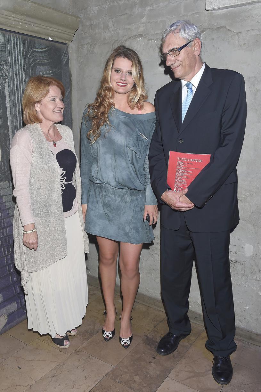 Maria Winiarska, Zofia Zborowska, Wiktor Zborowski /Kurnikowski /AKPA