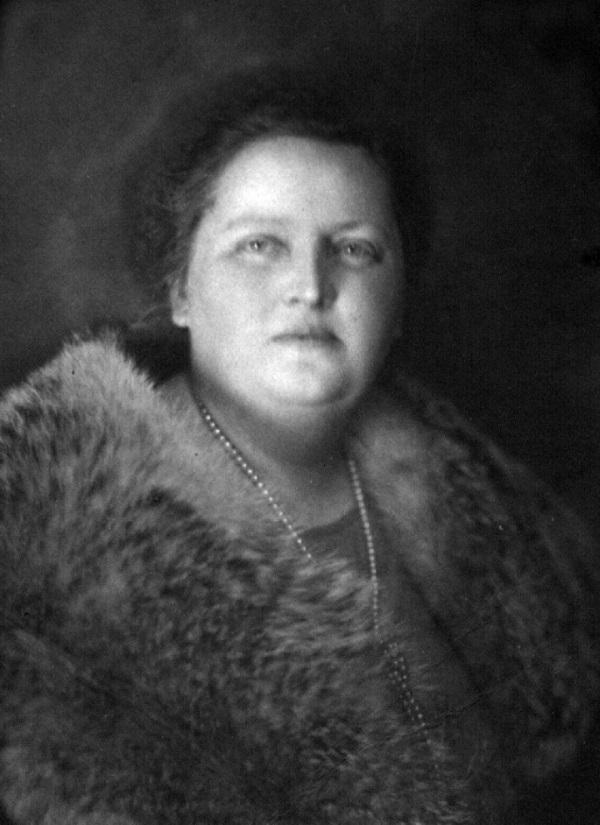Maria Wojciechowska, żona Prezydenta RP Stanisława Wojciechowskiego (domena publiczna) /Ciekawostki Historyczne