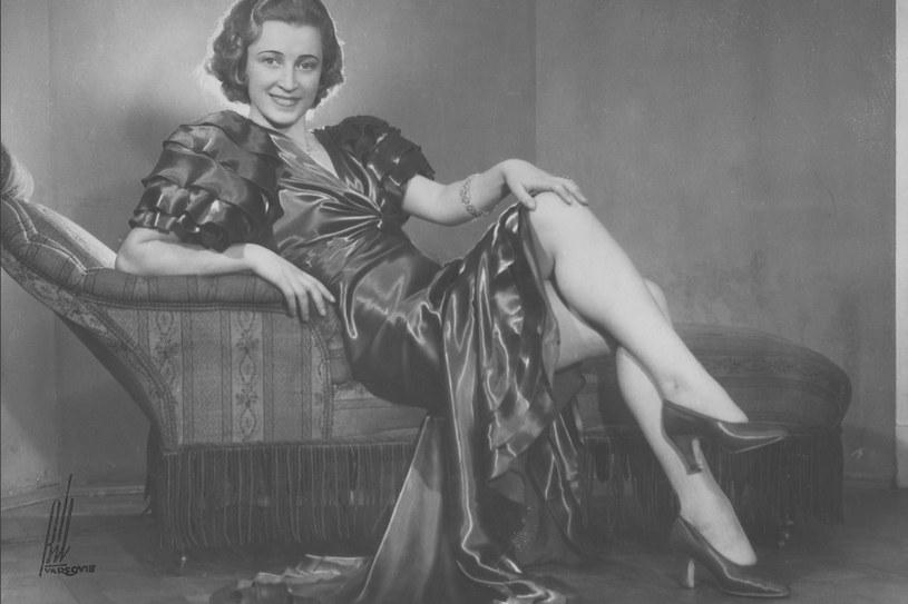 Maria Żabkiewiczówna, Miss Polonia 1934 /Styl.pl/materiały prasowe
