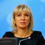Maria Zacharowa: Parlament Europejski fałszuje historię