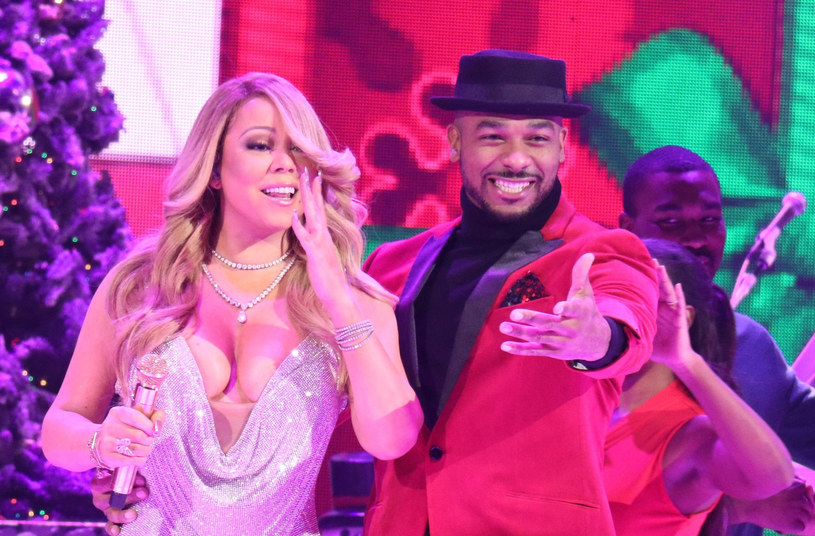 Mariah Carey i Anthony Burrell /Gregory Pace/BEI/Shutterstock /East News