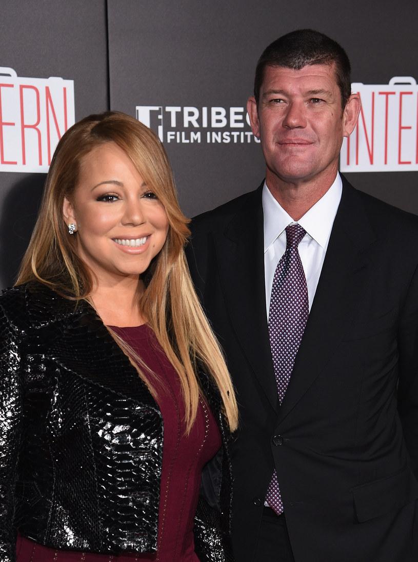 Mariah Carey i James Packer /Dimitrios Kambouris /Getty Images