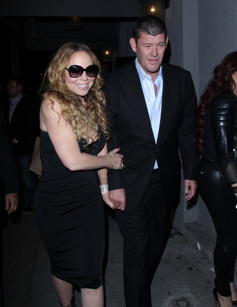 Mariah Carey i James Packer /GC Images /Getty Images
