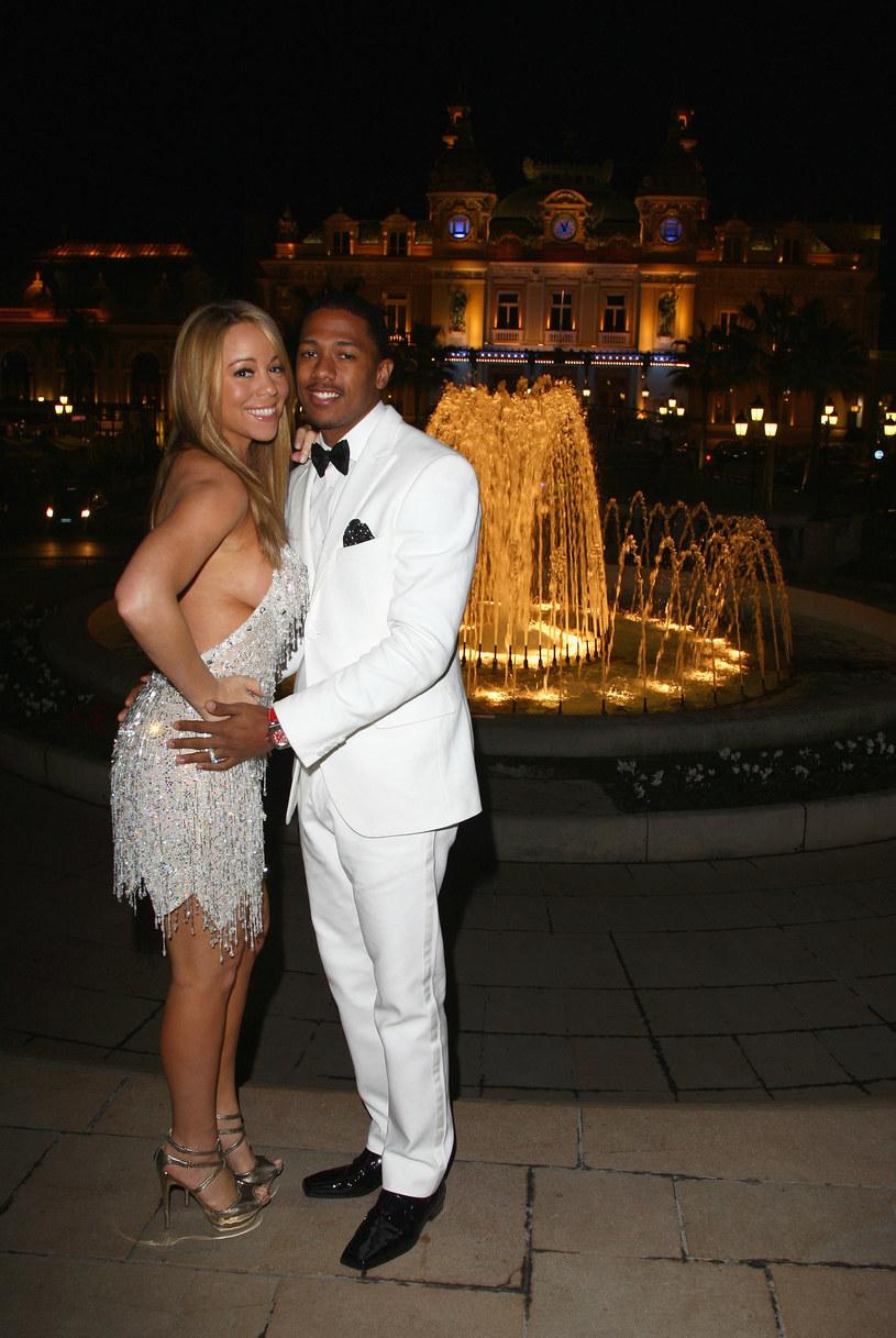 Mariah Carey i Nick Cannon w 2008 roku /Gareth Cattermole /Getty Images