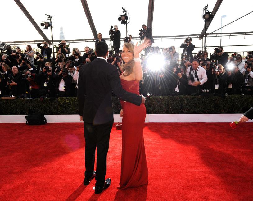 Mariah Carey i Nick Cannon /Kevork Djansezian /Getty Images