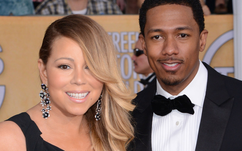 Mariah Carey i Nick Cannon /Gregg DeGuire /Getty Images