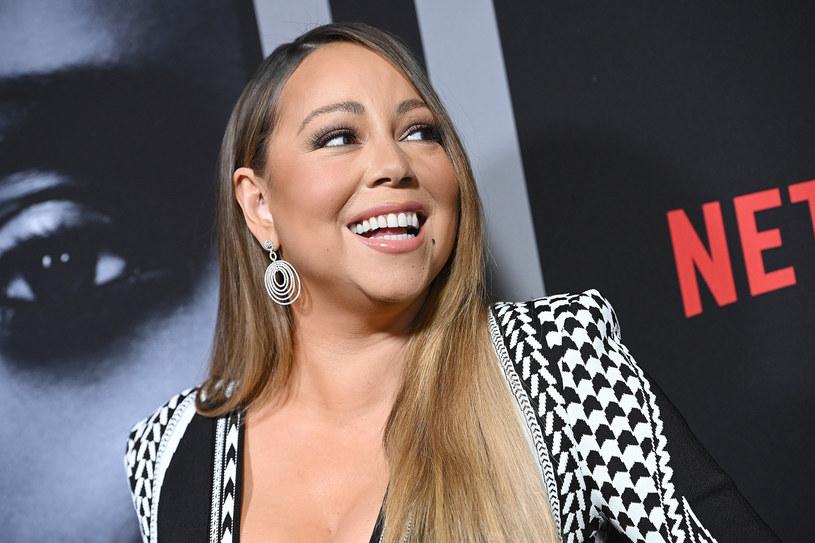 Mariah Carey ma pięciooktawową skalę głosu /Anthony Behar/Sipa USA /East News