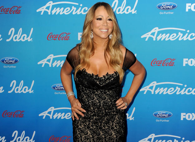 Mariah Carey nosi szpilki nawet w domu /Getty Images/Flash Press Media
