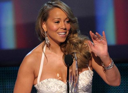 Mariah Carey rozbawiła publiczność swoim zachowaniem - fot. Kevin Winter /Getty Images/Flash Press Media