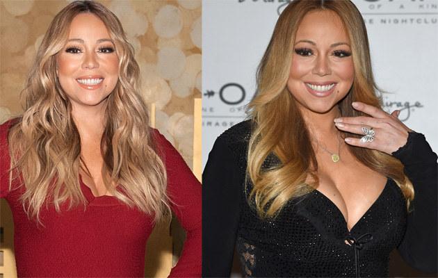 Mariah Carey sporo schudła! /D Dipasupil, Ethan Miller /Getty Images