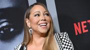 Mariah Carey w cekinowym body