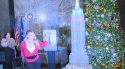 Mariah Carey zapaliła lampki świąteczne na Empire State Building