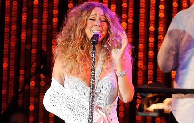 Mariah Carey /Laura Cavanaugh /Getty Images