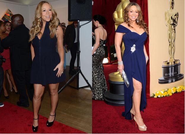 """Mariah wybrała dietę """"dla leniwych /- /Getty Images/Flash Press Media"""