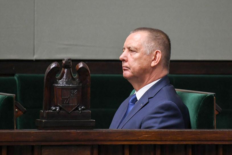 Marian Banaś 19 listopada w Sejmie /Jacek Domiński /Reporter