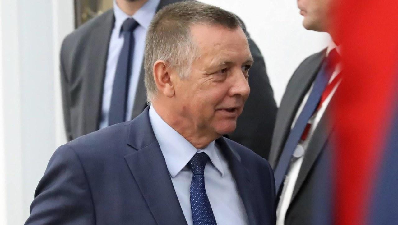 Marian Banaś zgodził się na wejście agentów CBA do swojego biura