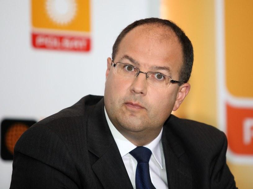 Marian Kmita, dyrektor do spraw sportu Telewizji Polsat /Piotr Bławicki /East News
