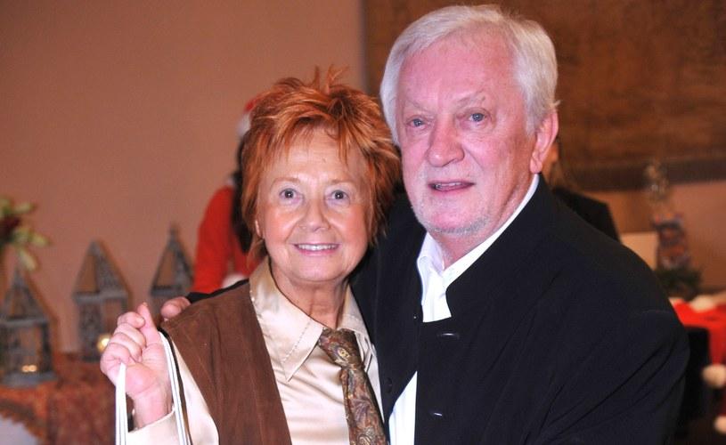 Marian Kociniak z żoną w 2007 roku /Radosław Nawrocki /Agencja FORUM