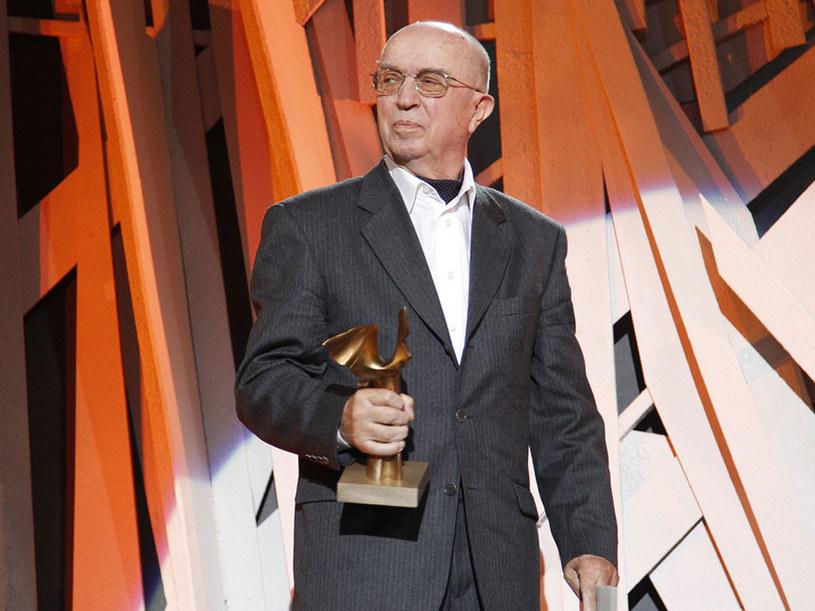 Marian Pilot - laureat tegorocznej nagrody Nike  /Andrzej Engelbrecht /AKPA