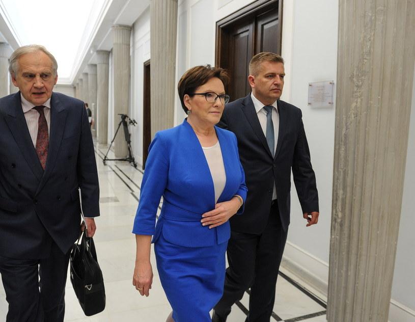 Marian Zembala, Ewa Kopacz, Bartosz Arłukowicz /Marcin Obara /PAP